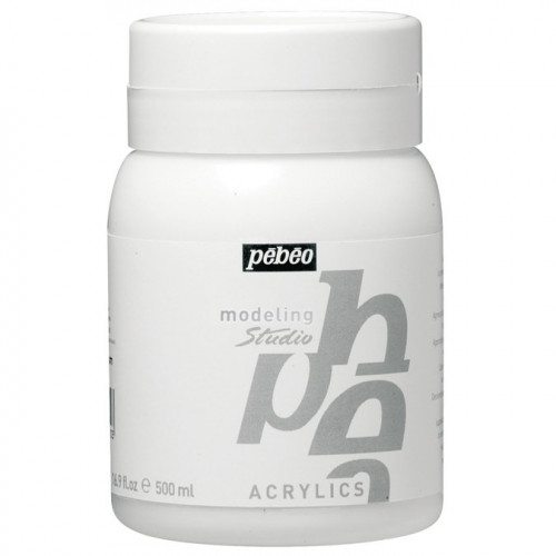 Acrylics - Modeling Paste - 500 ml