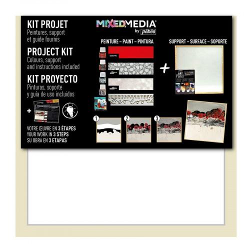 Kit projet Art Panel - Mixed Media - Miroir