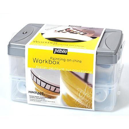 Porcelaine 150 - Workbox - Atelier peinture sur porcelaine