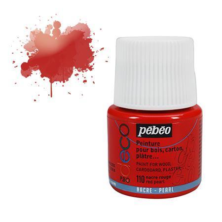 PBO Déco nacré - Rouge nacré 45 ml - couleur 5110