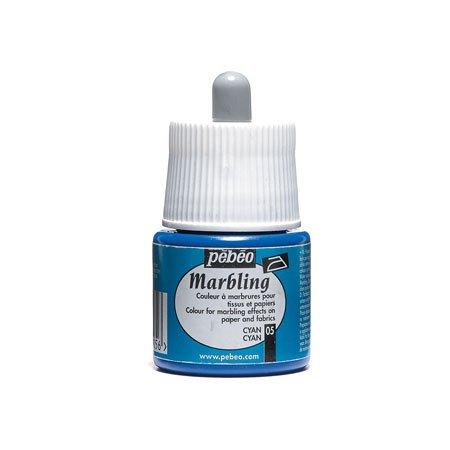Marbling peinture - Cyan 45 ml - couleur 05