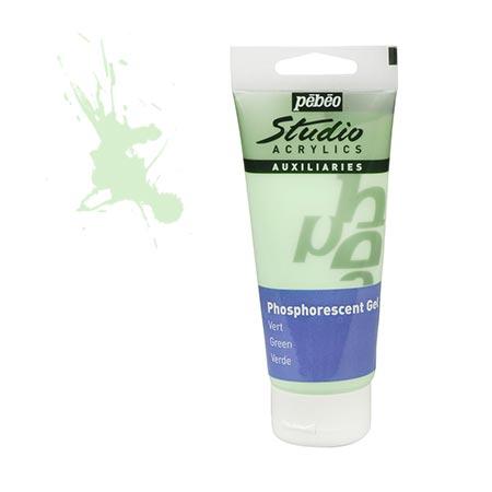 Acrylics Studio - Gel vert phosphorescent - couleur 112 - 100 ml