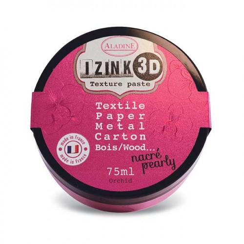 Izink Pâte 3D - nacré - Orchid - 75 ml