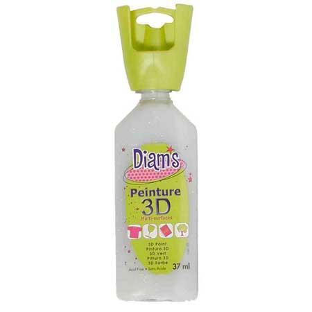 Peinture 3D Diam's effets spéciaux - Holographique - 37 ml