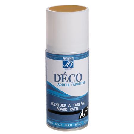 Déco additif - Spray peinture à tableau - Jaune
