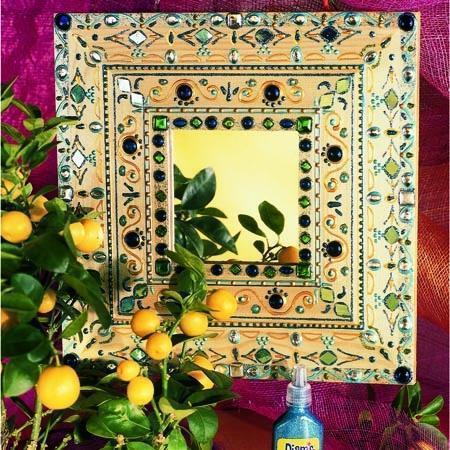 Peinture 3D Diams Brillant - Vert anis - 37 ml