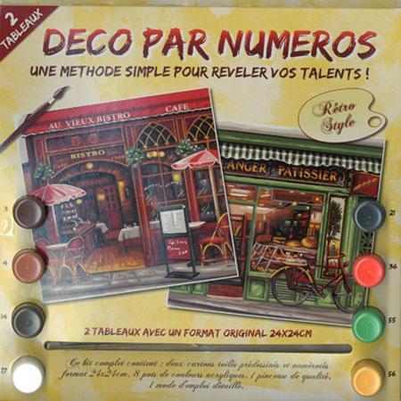 Peinture par numéro - Boutiques parisiennes
