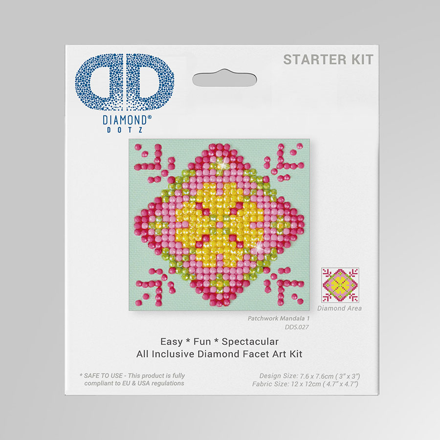 Kit Tableau Strass Diamond Dotz Mandala