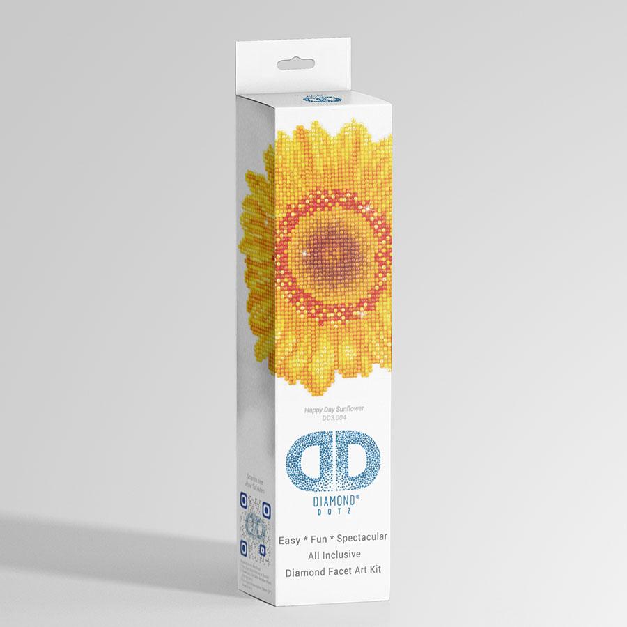 Kit Tableau Strass Diamond Dotz Tournesol