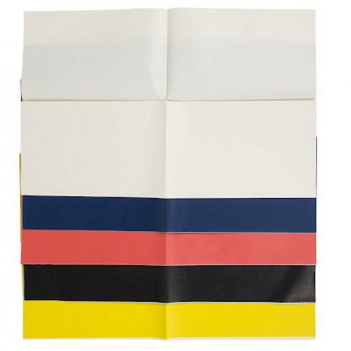 2 feuilles de papier carbone Blanc