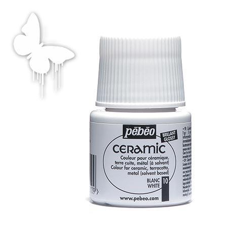 Céramic - Blanc 45 ml - couleur 10