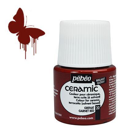 Céramic - Grenat 45 ml - couleur 20