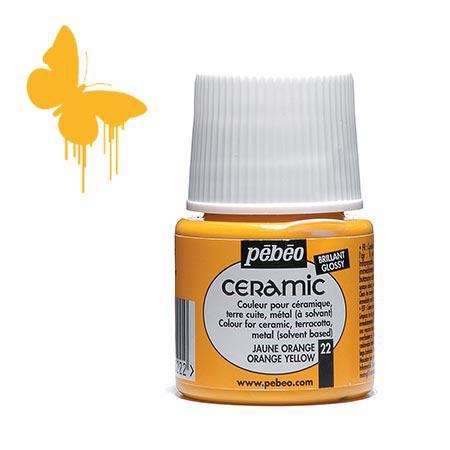 Céramic - Jaune orange 45 ml - couleur 22