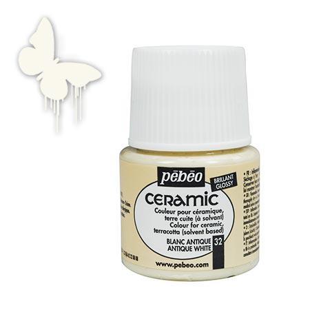 Céramic - Blanc antique 45 ml - couleur 32
