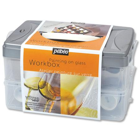 Vitréa 160 - Workbox - Atelier peinture sur verre