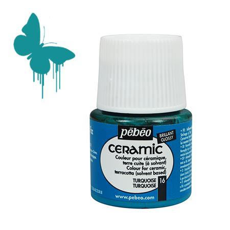Céramic - Turquoise 45 ml - couleur 16