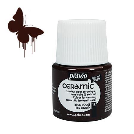 Céramic - Brun rouge 45 ml - couleur 18