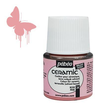 Céramic - Rose 45 ml - couleur 34