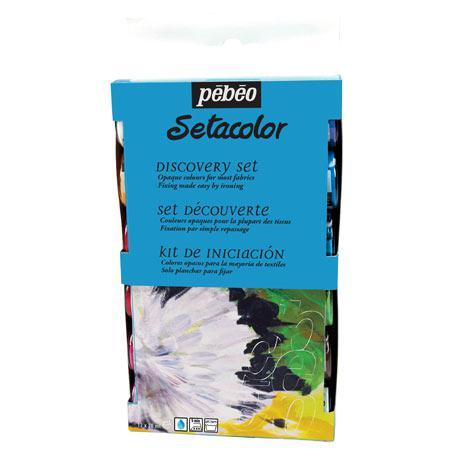 Sétacolor Opaque - Coffret découverte - 12 flacons de 20 ml