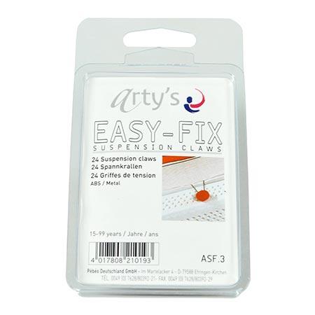 Easy Fix - Attaches/Griffes - 24 pcs