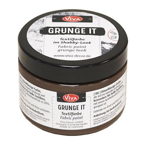 Peinture textile Grunge It Dirty Mud 150 ml