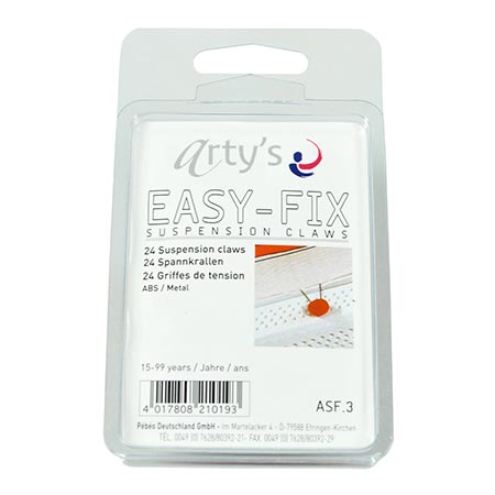 Easy Fix - Attaches/Griffes - 24 pcs