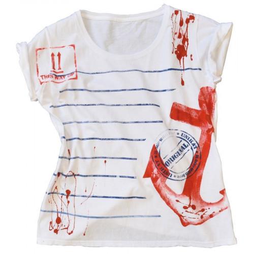 Peinture textile Grunge It Innocent White 150 ml