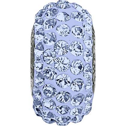 BeCharmed Pavé Slim 81101 - 13.5 mm - Light Sapphire