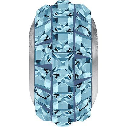BeCharmed Pavé Slim 81201 - 13 mm - Aquamarine