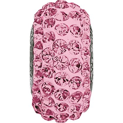 BeCharmed pavé 81101 - 13.5 mm - Light Rose