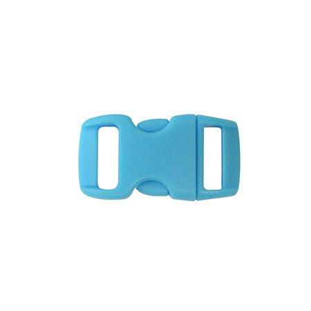 Clips plastique - bleu - 10 mm - 10 pces