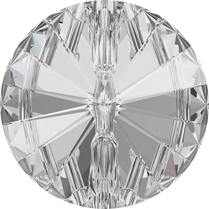 Bouton à coudre rond 3015 - 10 mm - Crystal