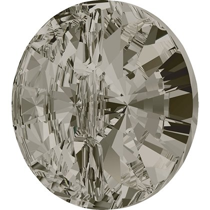 Bouton à coudre rond 3015 - 10 mm - Crystal Satin