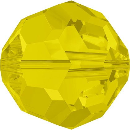 Perle ronde 5000 - 6 mm - Yellow Opal