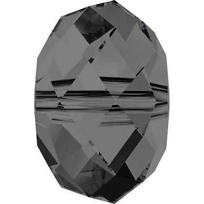 Perle briolette 5040 - 6 mm - Crystal Silver Night