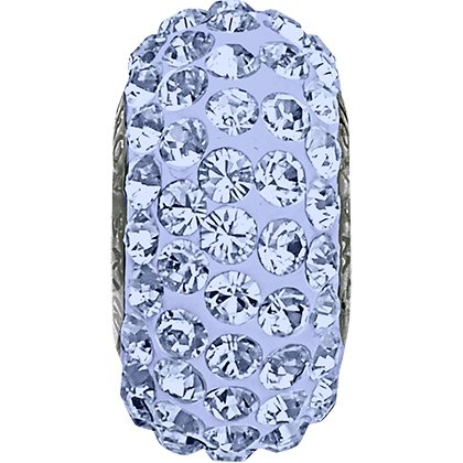 BeCharmed Pavé Slim 81101 - 13.5 mm - Light Sapphire