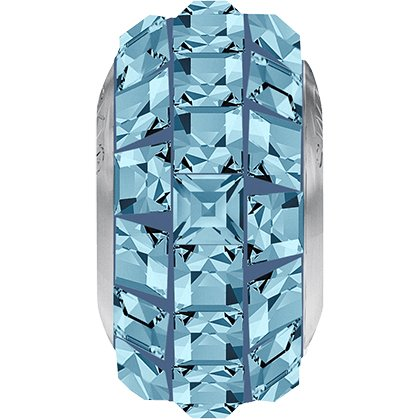 BeCharmed Pavé Slim 81201 - 13 mm - Aquamarine