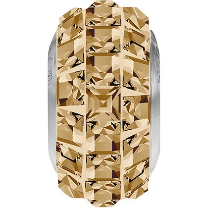 BeCharmed Pavé Slim 81201 - 13 mm - Crystal Golden Shadow