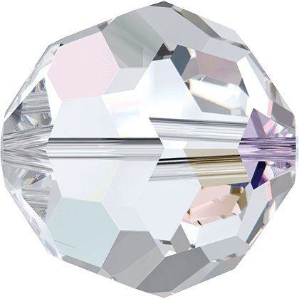 Perle ronde 5000 - 6 mm - Crystal Aurore Boreale