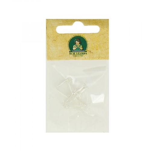 Assortiment de bélières - Argent - Taille aléatoire de 10 à 15 mm