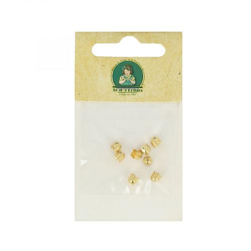 Clochettes petits modèles - Or - Ø 4 mm
