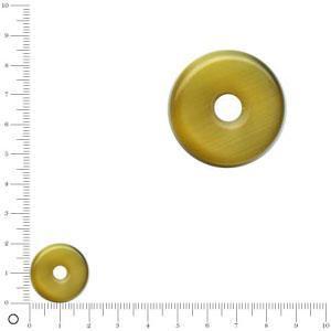 Anneau pour bague à monter Ø 20 mm - Corne