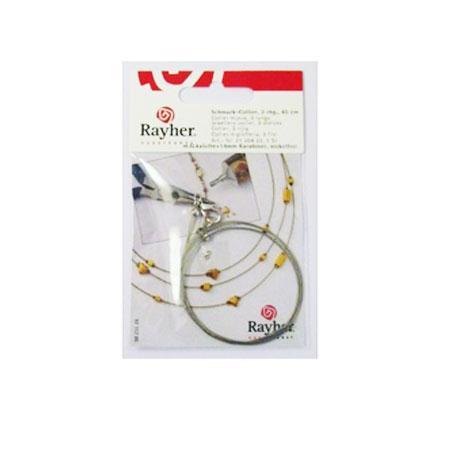 Collier bijoux - 3 rangs - argent