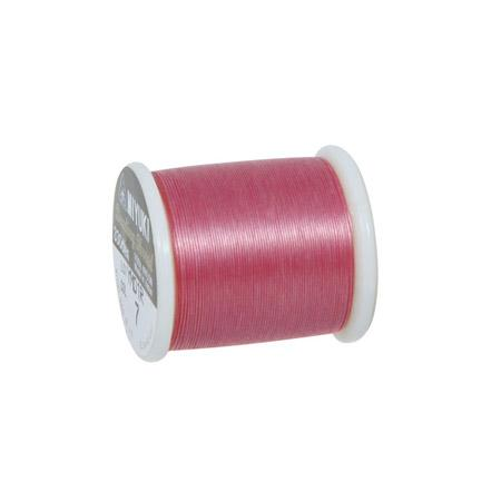 Fil nylon Miyuki Ø 0,25 mm - Rose chiffon x 50 m