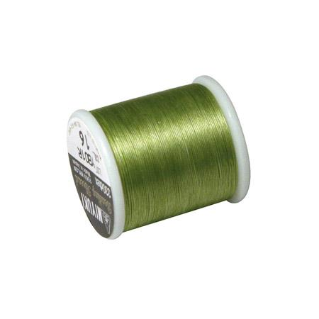 Fil nylon Miyuki Ø 0,25 mm - Vert mai x 50 m
