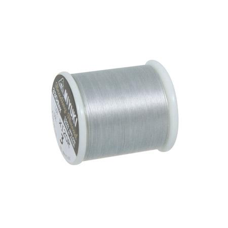 Fil nylon Miyuki Ø 0,25 mm - Argent x 50 m