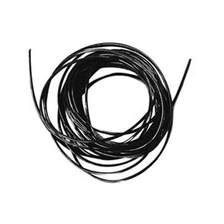 Fil élastique Ø 0,5 mm - Noir x 2 m