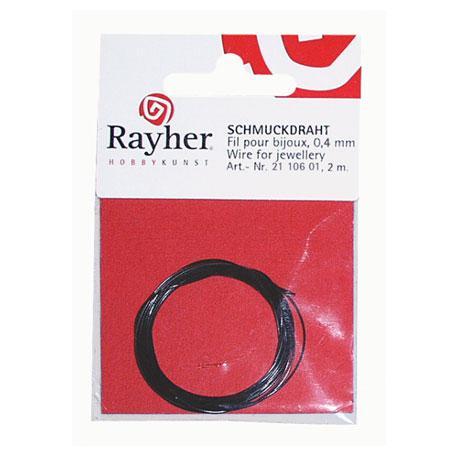 Fil cable - Ø 0,4 mm - Argenté x 2 m