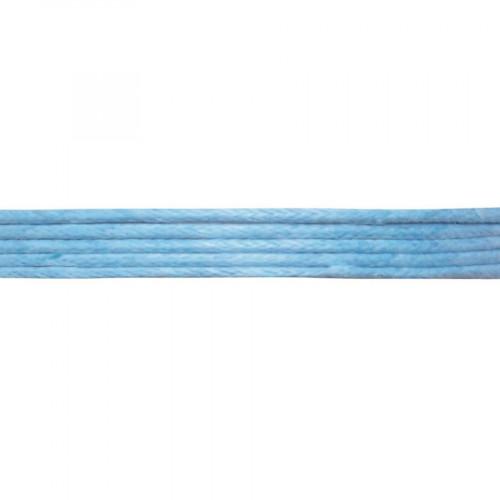 Cordon en coton - Bleu clair - 1 mm x 5 m