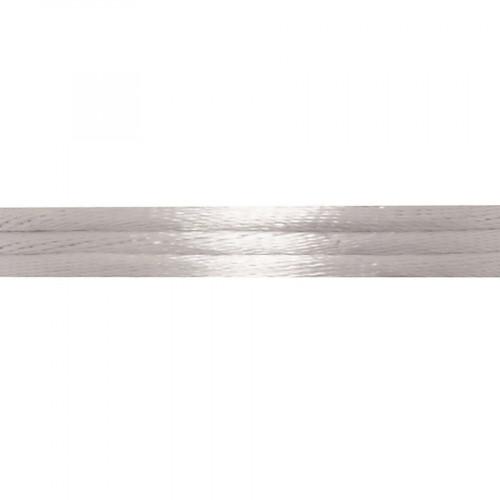 Cordon de satin - Argent - 2 mm x 5 m